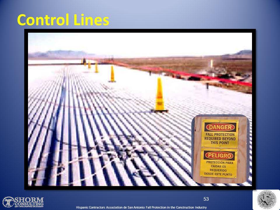 Control Lines Control Lines: