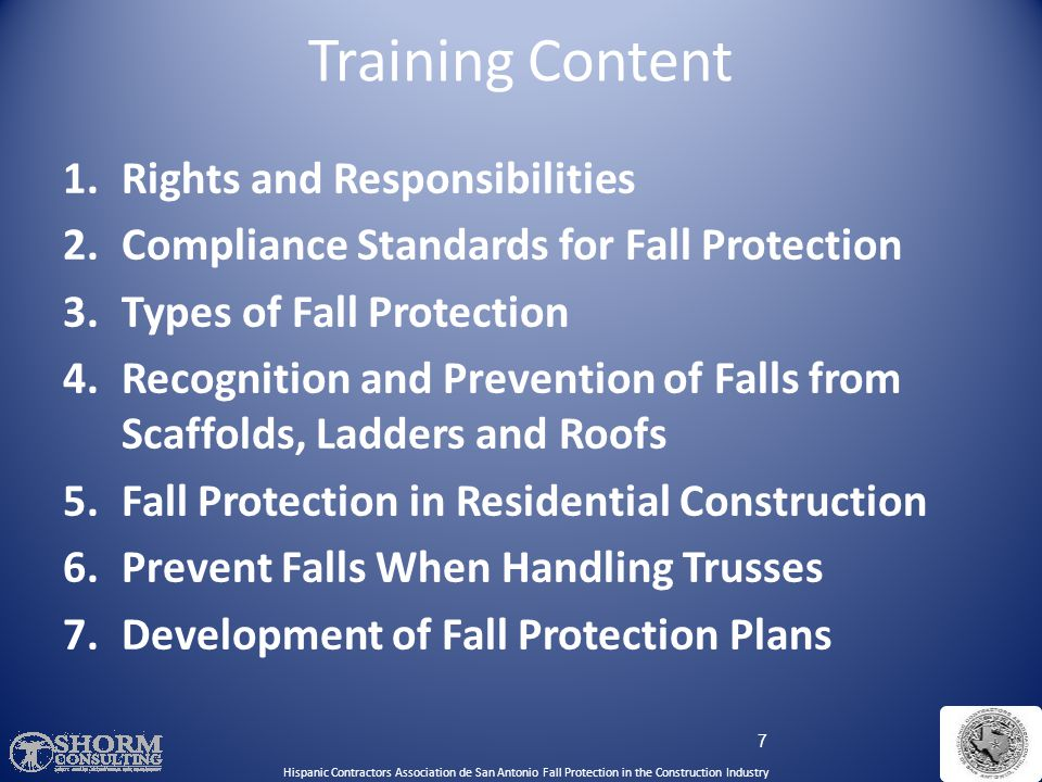 Training Content Rights and Responsibilities
