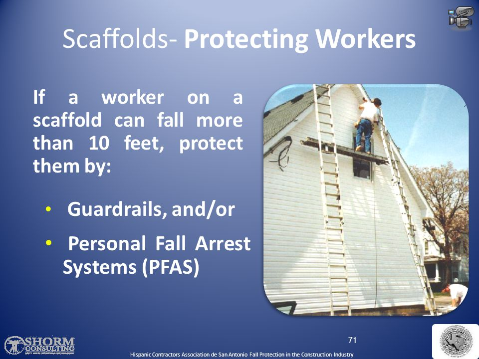 Scaffolds- Protecting Workers