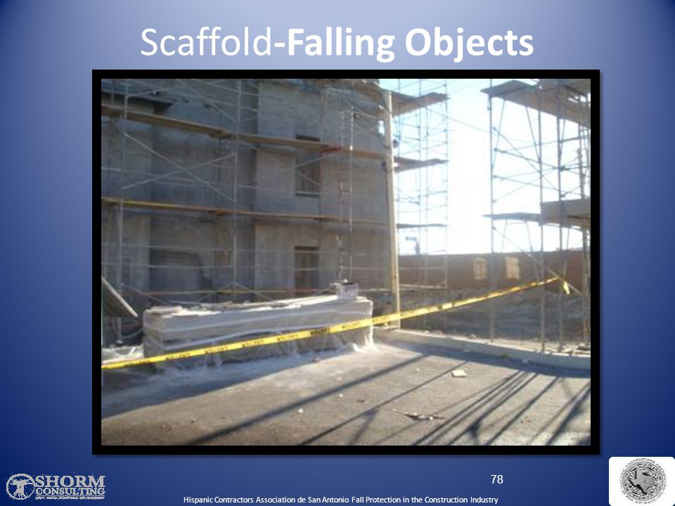 Scaffold-Falling Objects