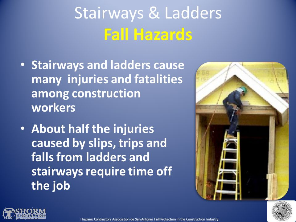 Stairways & Ladders Fall Hazards