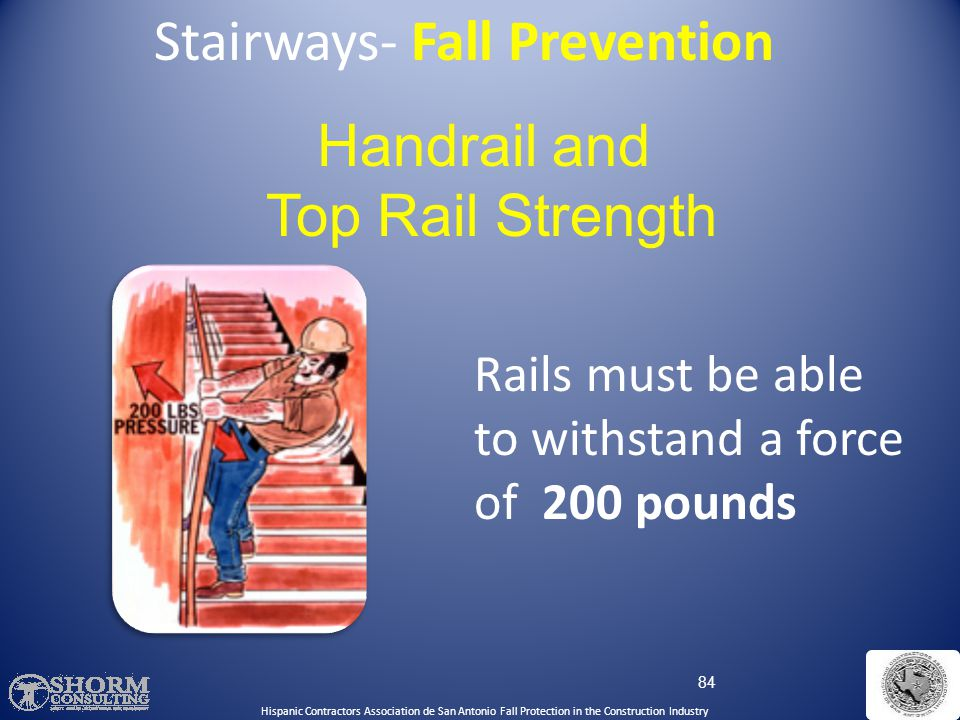 Stairways- Fall Prevention