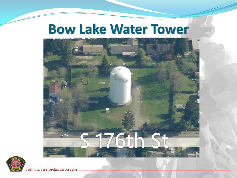 Bow Lake Water Tower Tukwila Fire Technical Rescue