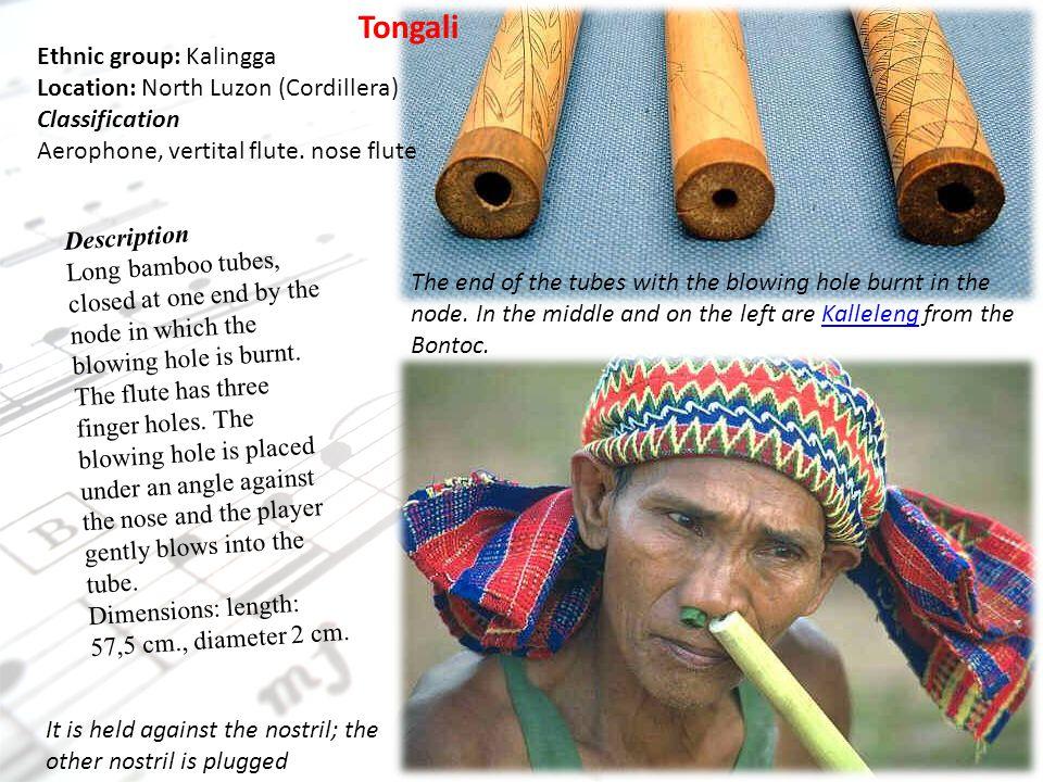 Tongali Ethnic group: Kalingga Location: North Luzon (Cordillera)