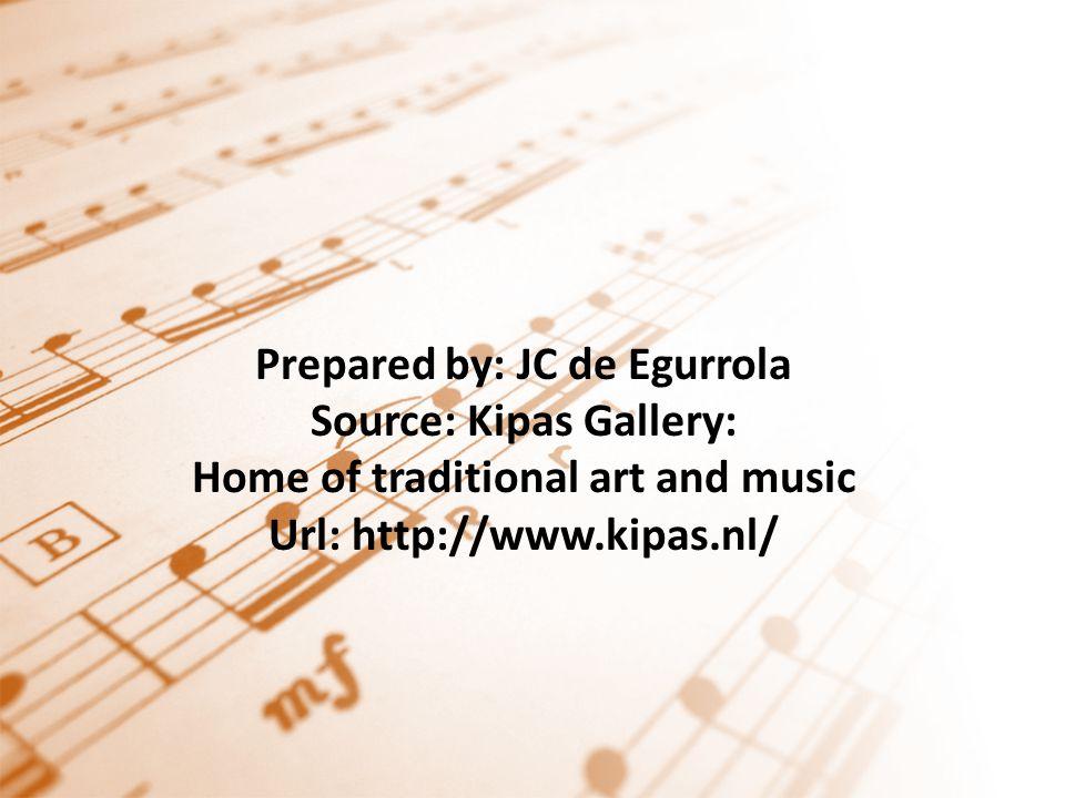 Prepared by: JC de Egurrola Source: Kipas Gallery: