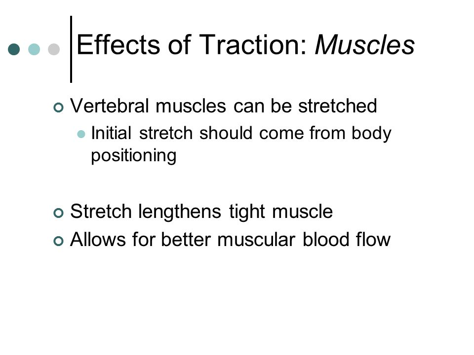 Effects of Traction: Muscles