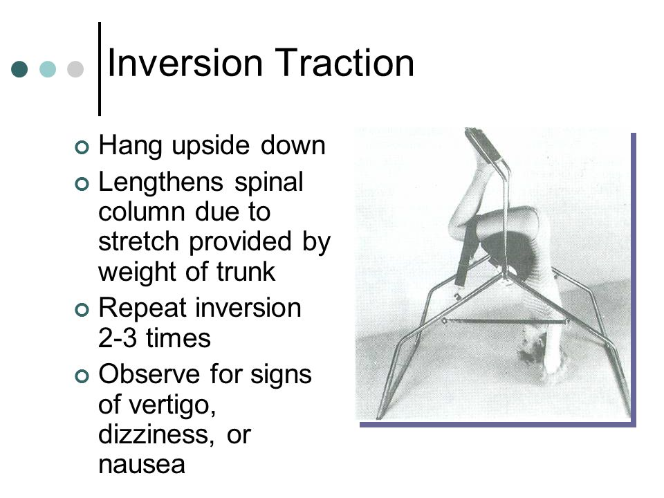 Inversion Traction Hang upside down