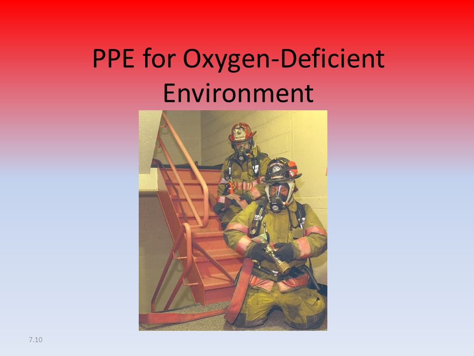 PPE for Oxygen-Deficient Environment