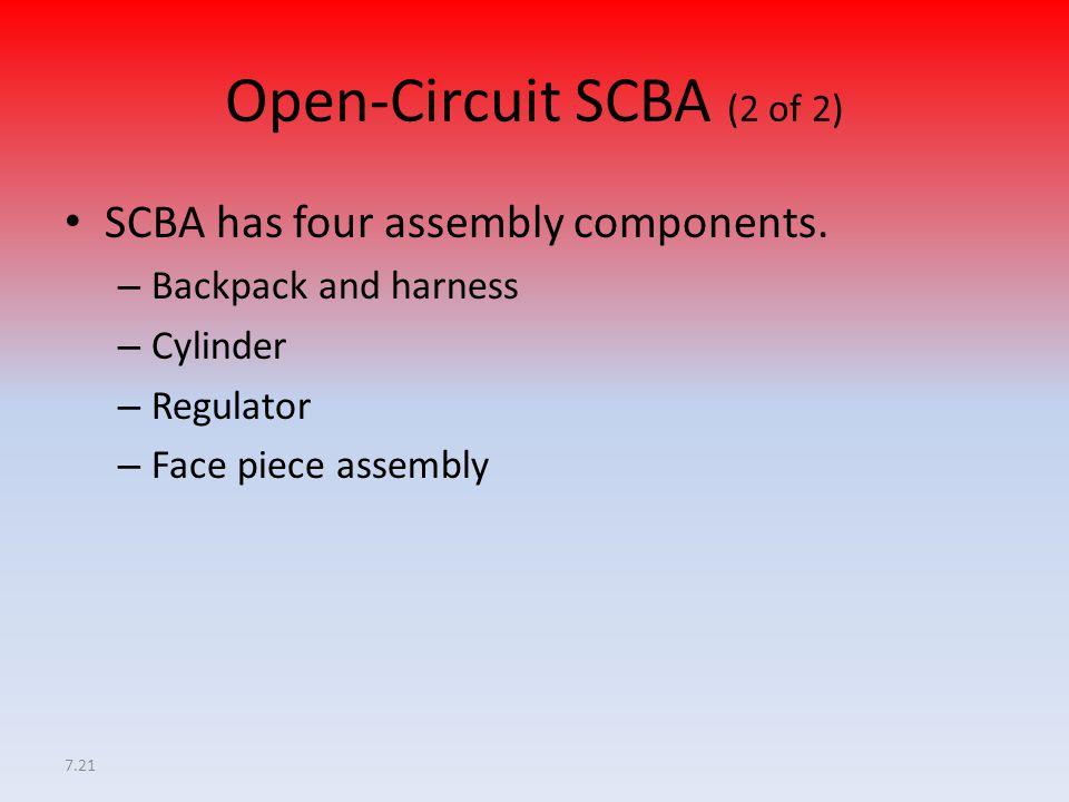 Open-Circuit SCBA (2 of 2)