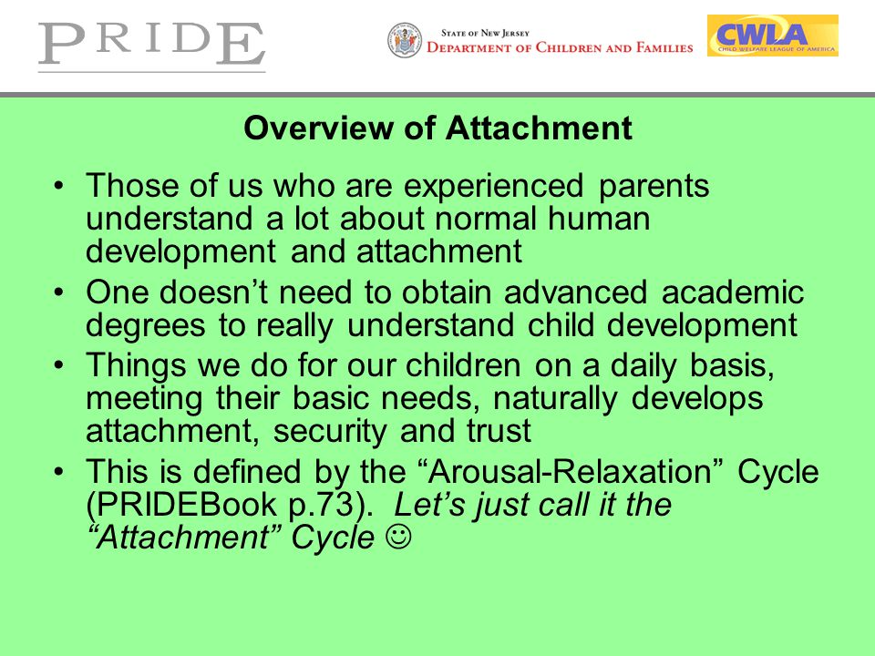Overview of Attachment