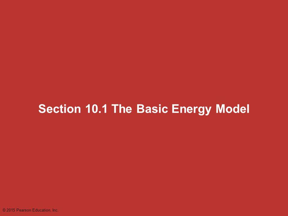 Section 10.1 The Basic Energy Model