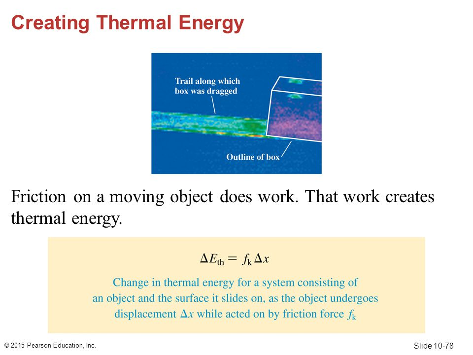 Creating Thermal Energy