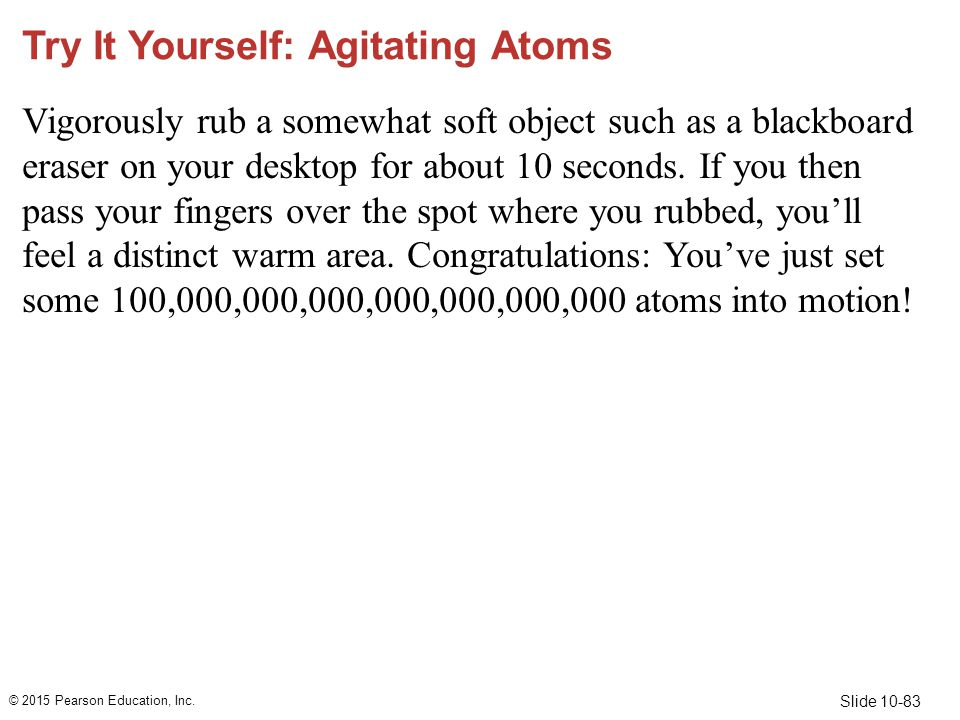 Try It Yourself: Agitating Atoms