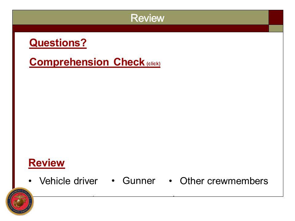 Comprehension Check (click)