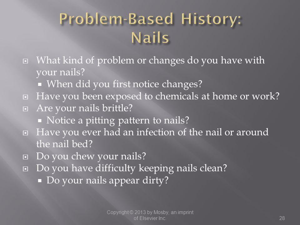 Problem-Based History: Nails