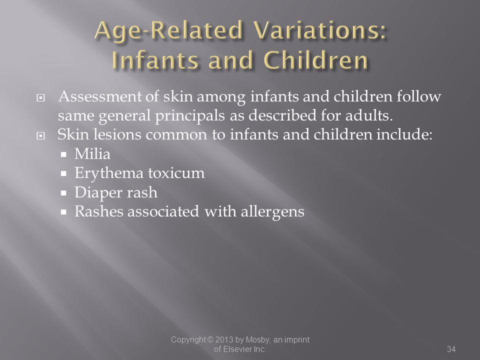 Age-Related Variations: Infants and Children