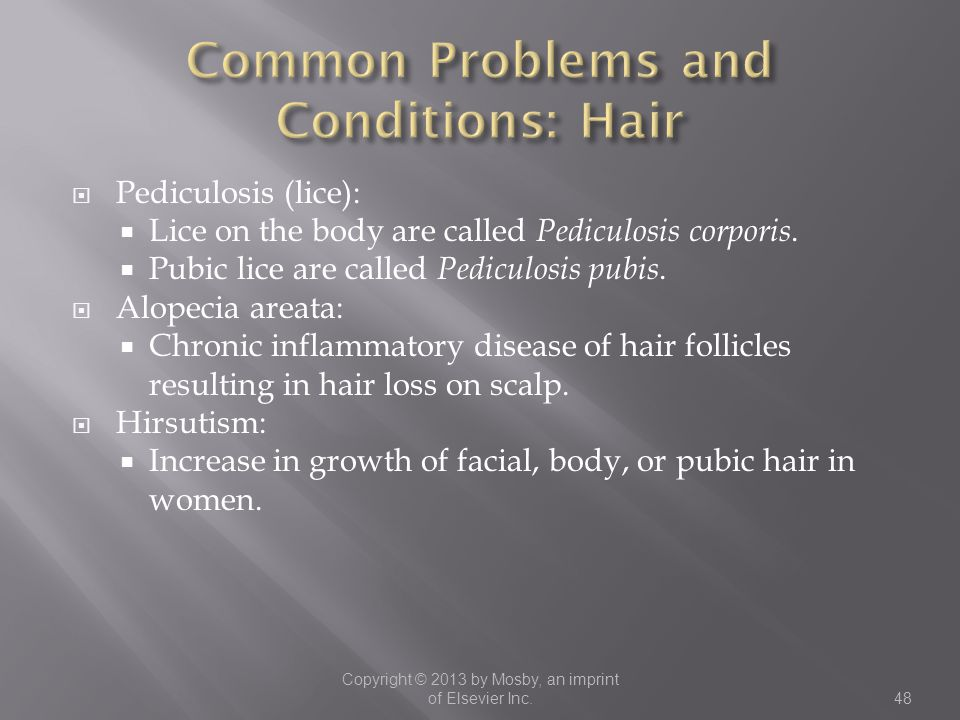 Common Problems and Conditions: Hair