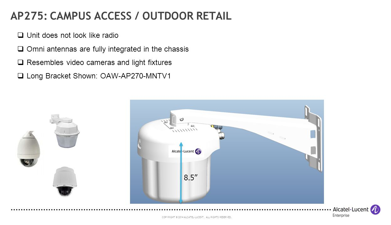 AP275: Campus Access / Outdoor Retail