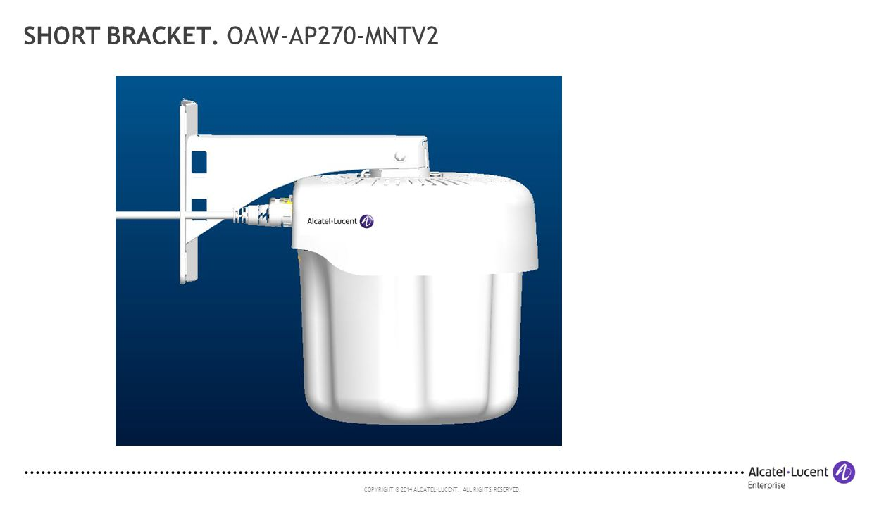 Short Bracket. OAW-AP270-MNTV2