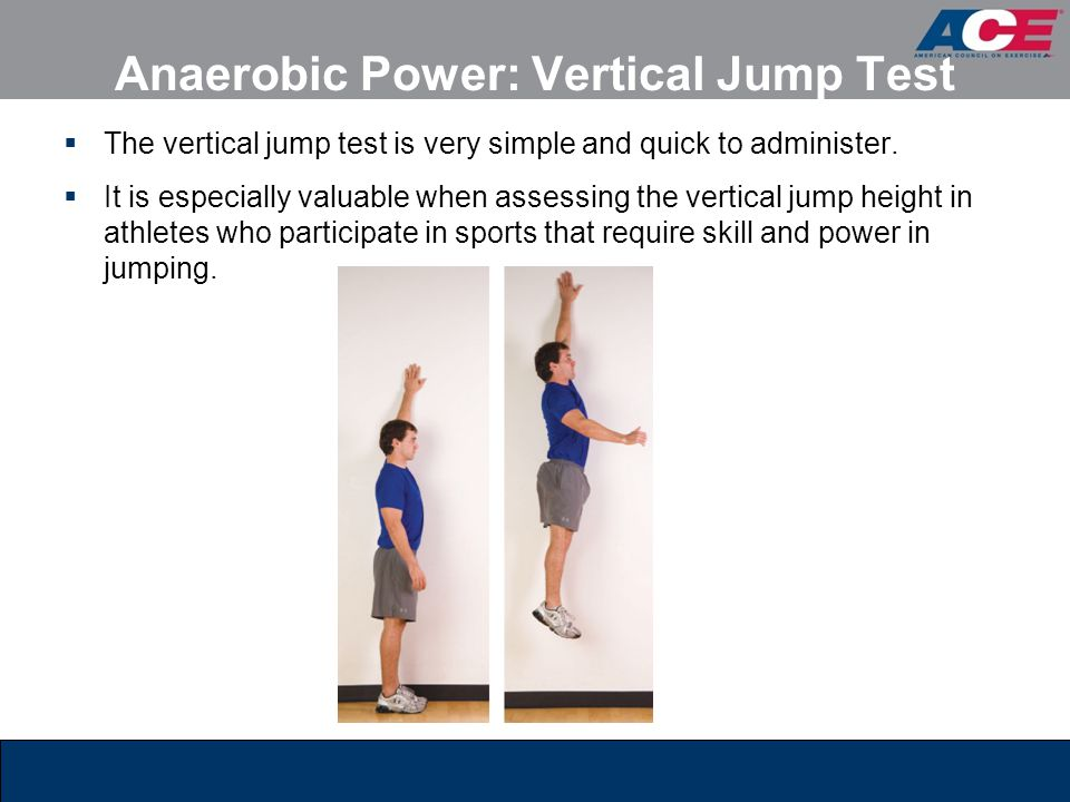 Anaerobic Power: Vertical Jump Test