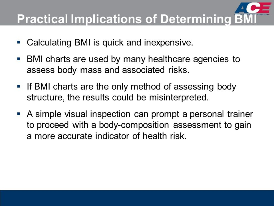 Practical Implications of Determining BMI