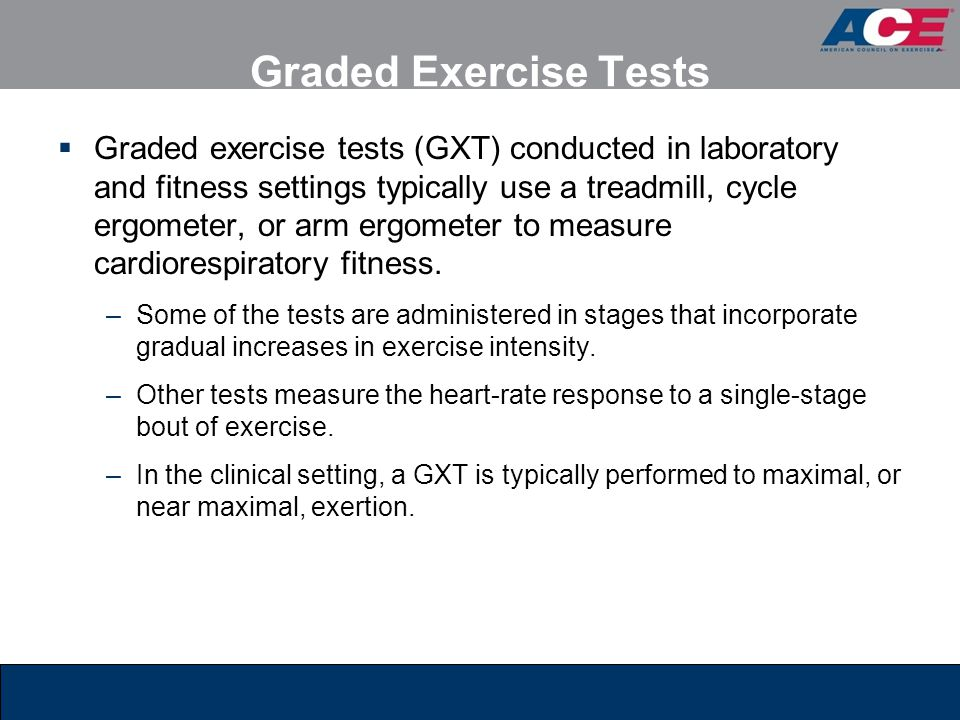 Graded Exercise Tests