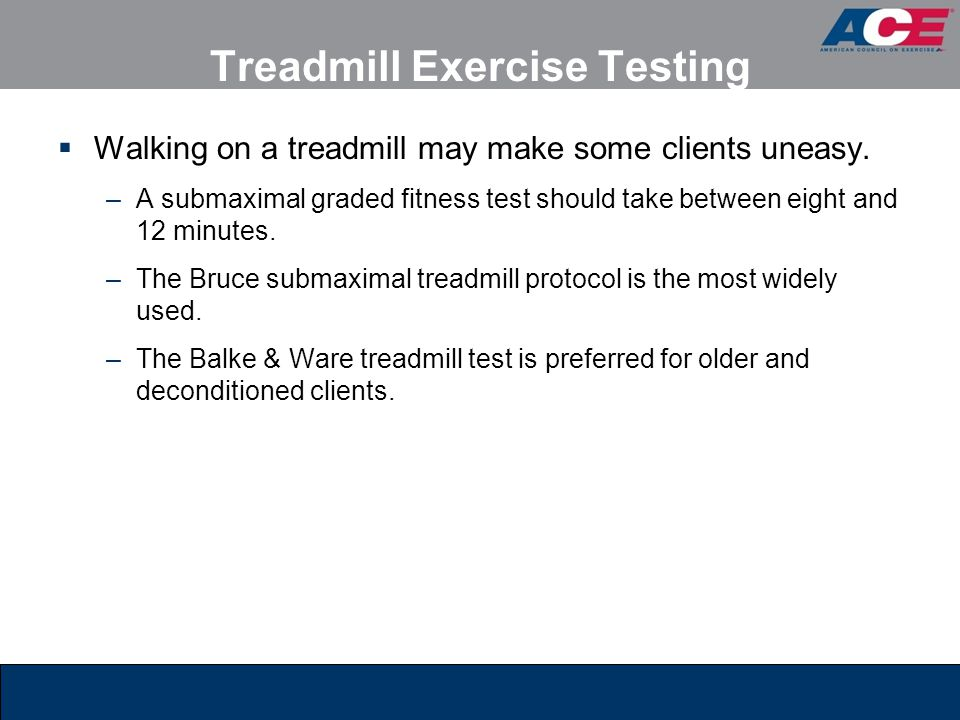 Treadmill Exercise Testing
