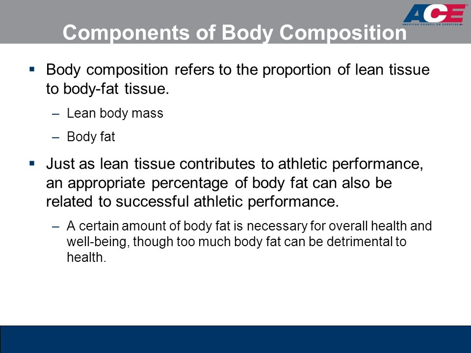 Components of Body Composition