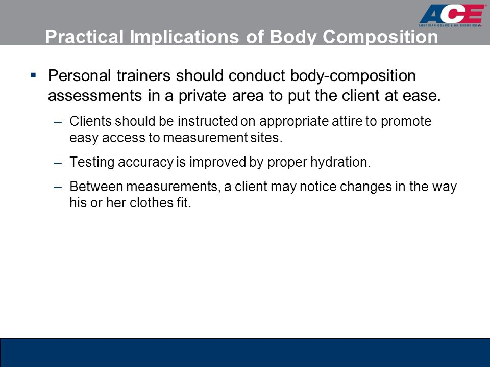 Practical Implications of Body Composition