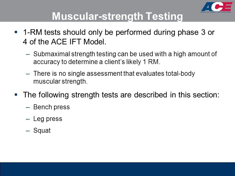 Muscular-strength Testing