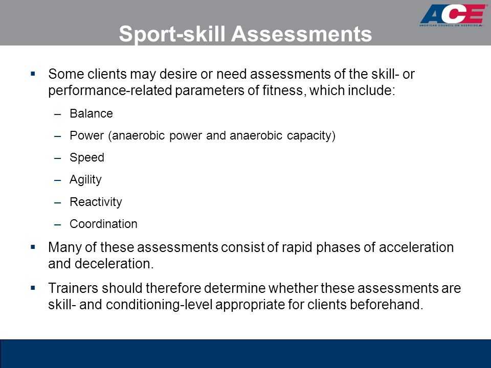 Sport-skill Assessments