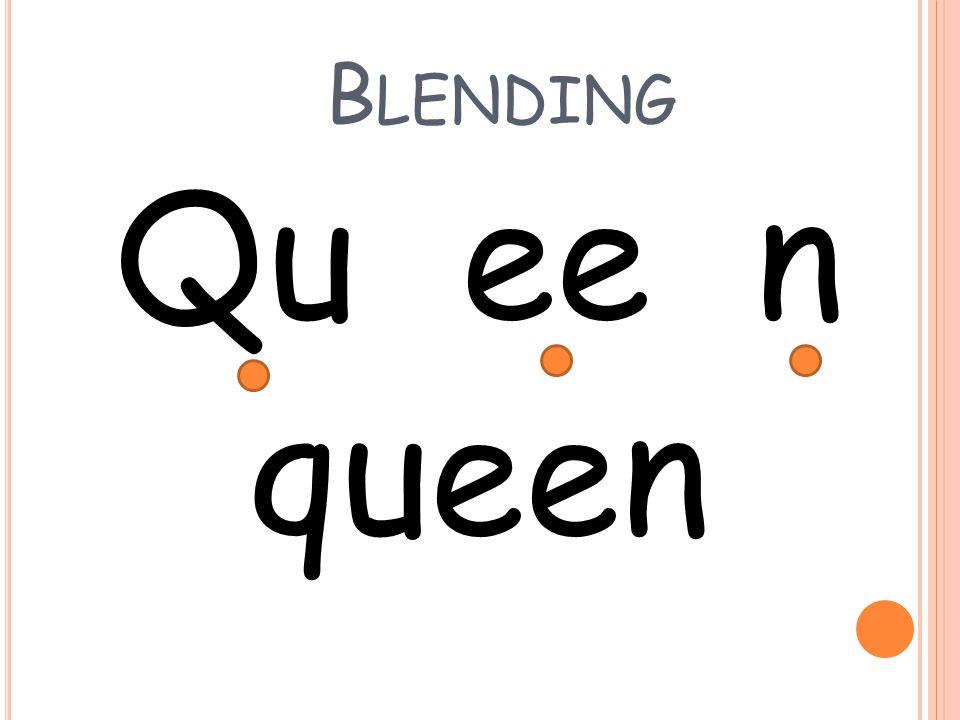 Blending Qu ee n queen
