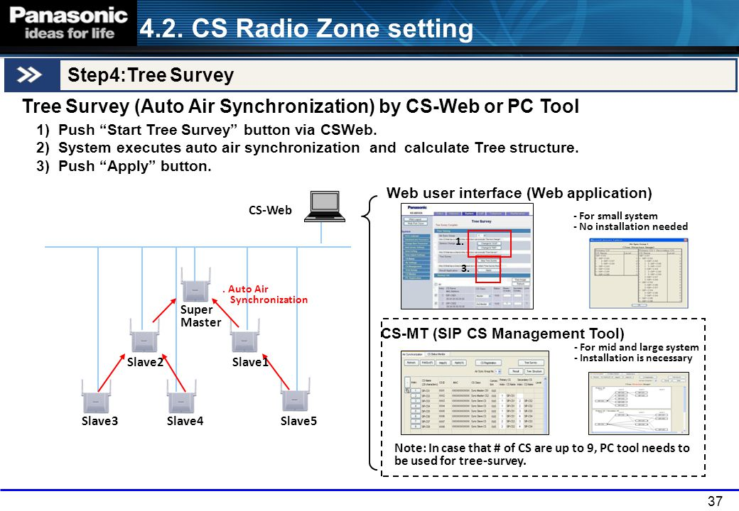 4.2. CS Radio Zone setting Step4:Tree Survey