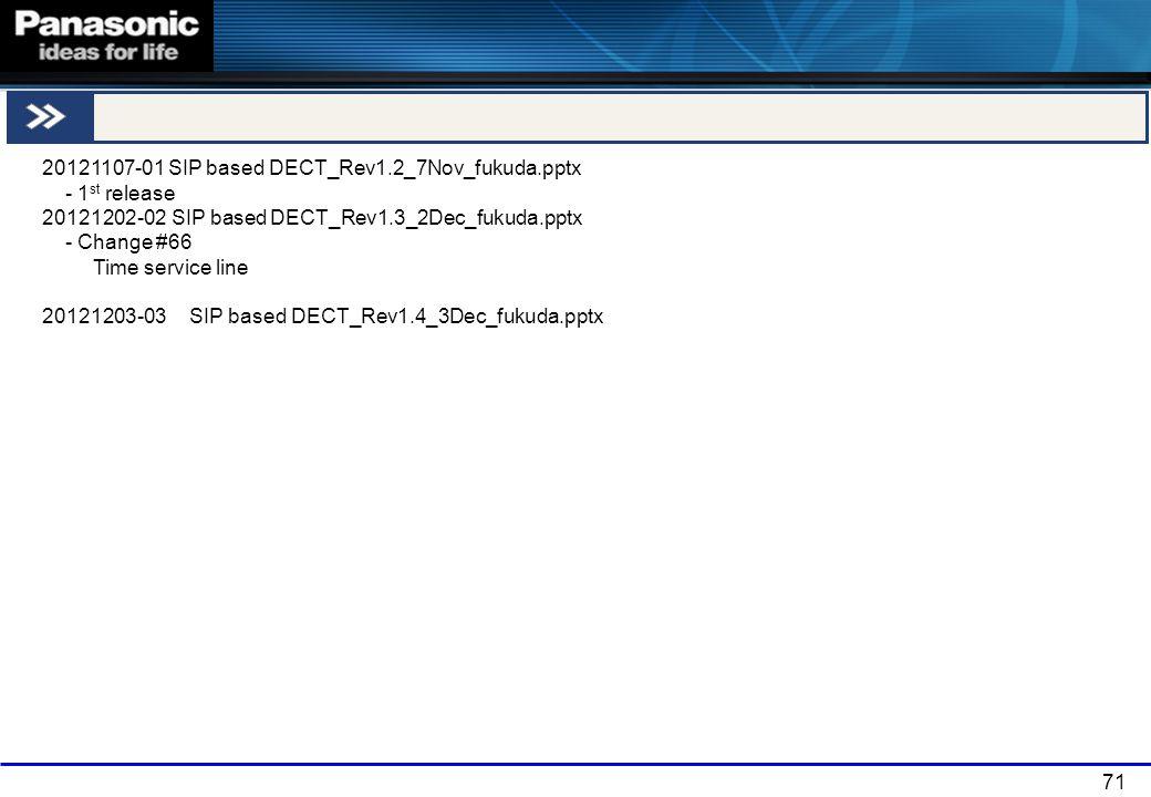 END 20121107-01 SIP based DECT_Rev1.2_7Nov_fukuda.pptx - 1st release
