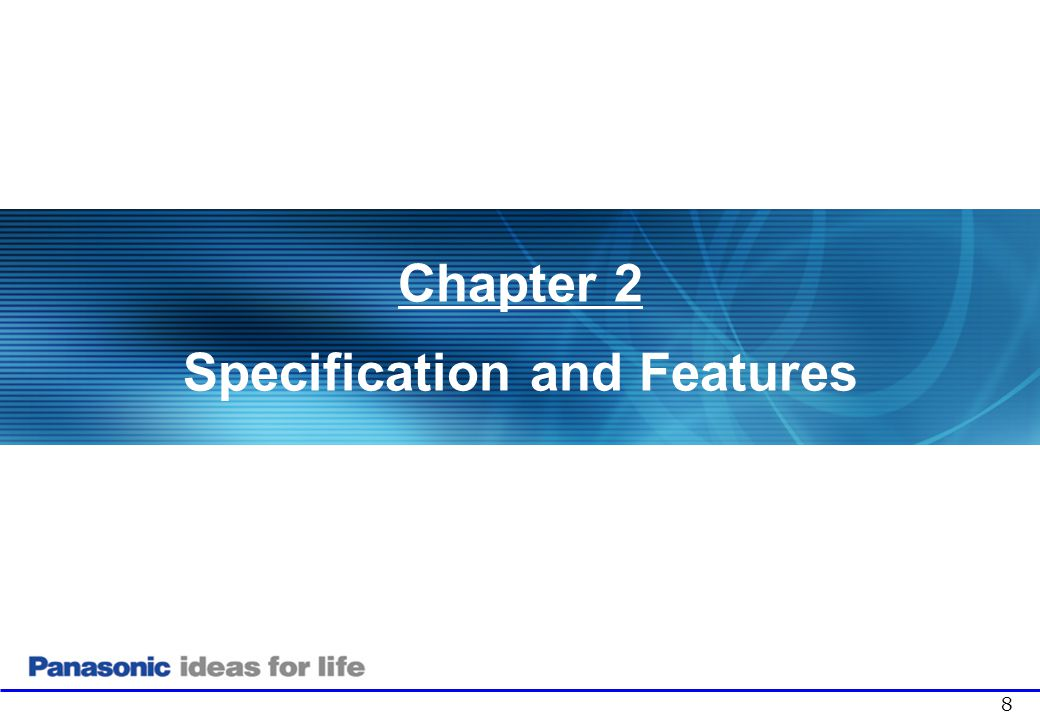 Specification and Features