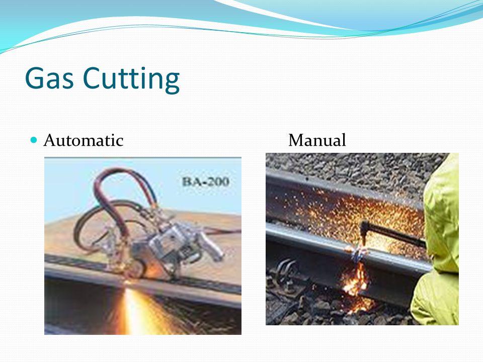 Gas Cutting Automatic Manual