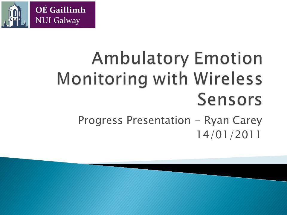 Ambulatory Emotion Monitoring with Wireless Sensors