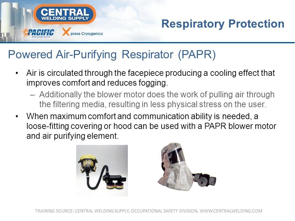 Powered Air-Purifying Respirator (PAPR)