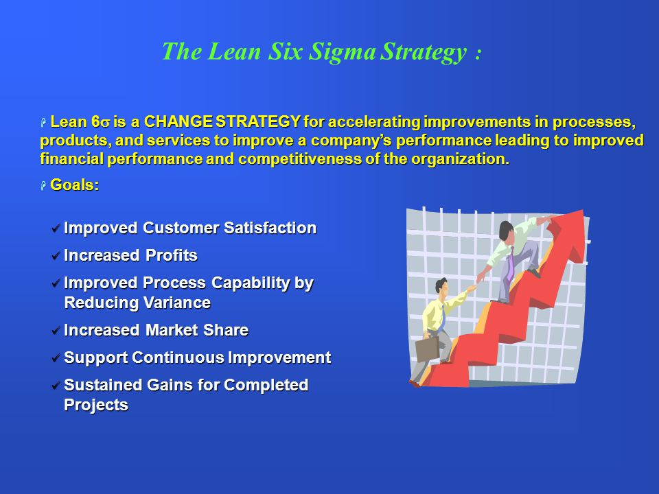 The Lean Six Sigma Strategy :
