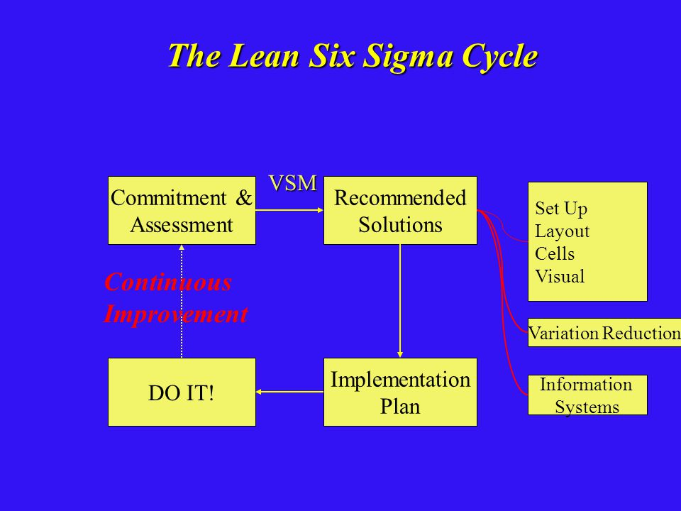 The Lean Six Sigma Cycle