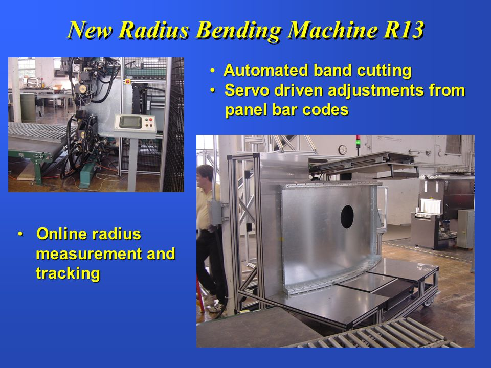 New Radius Bending Machine R13