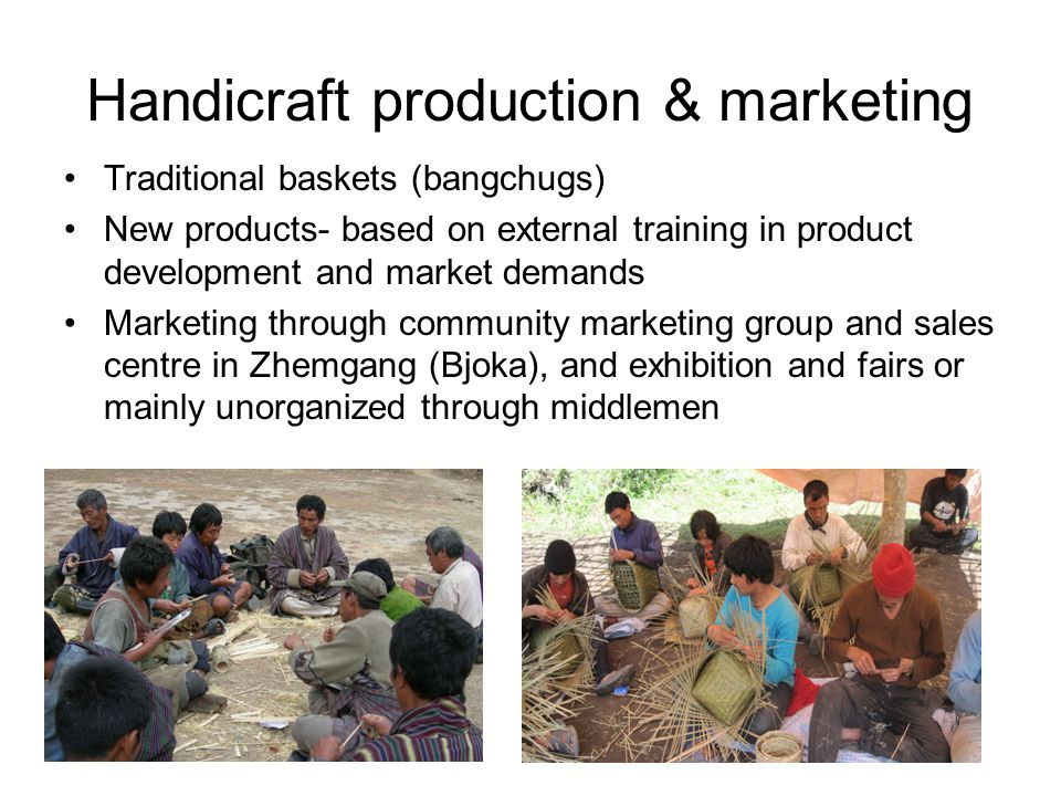 Handicraft production & marketing