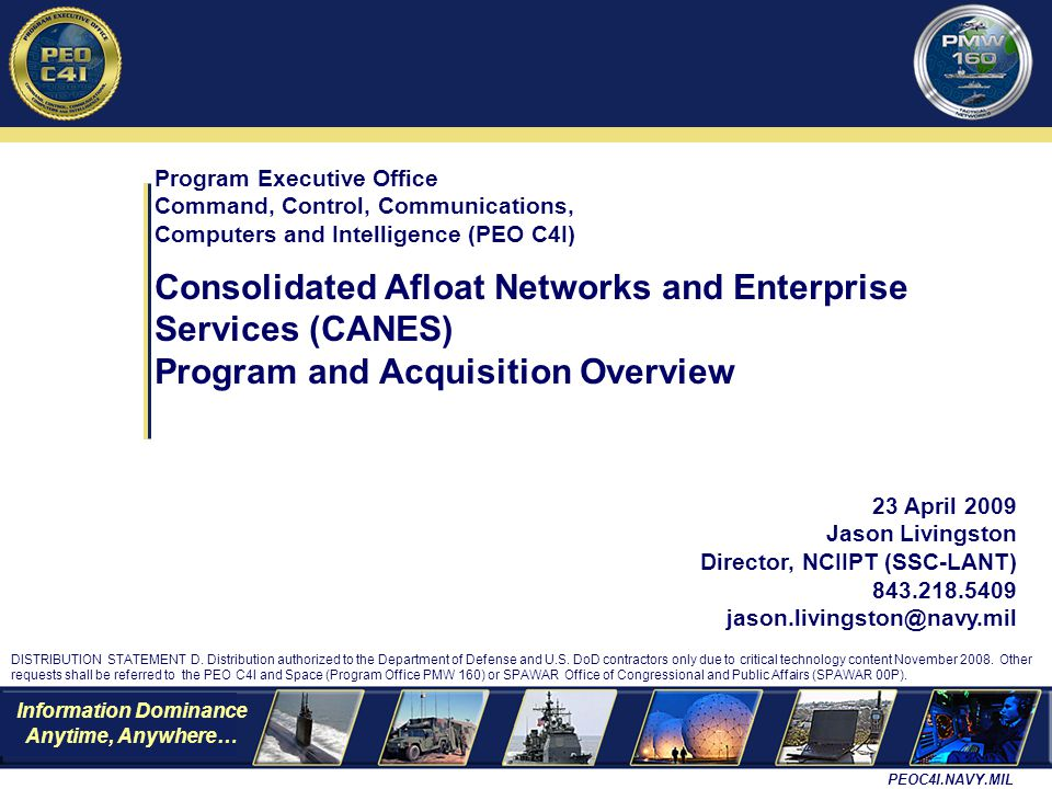 Consolidated Afloat Networks and Enterprise Services (CANES)