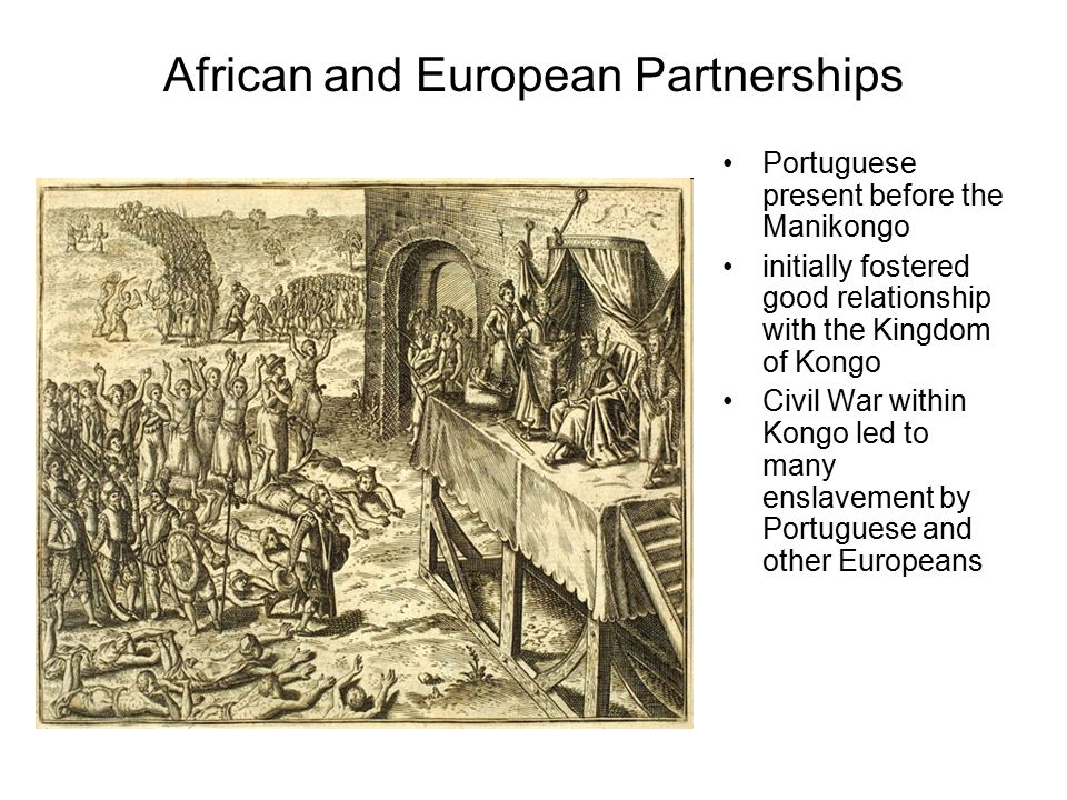 African and European Partnerships