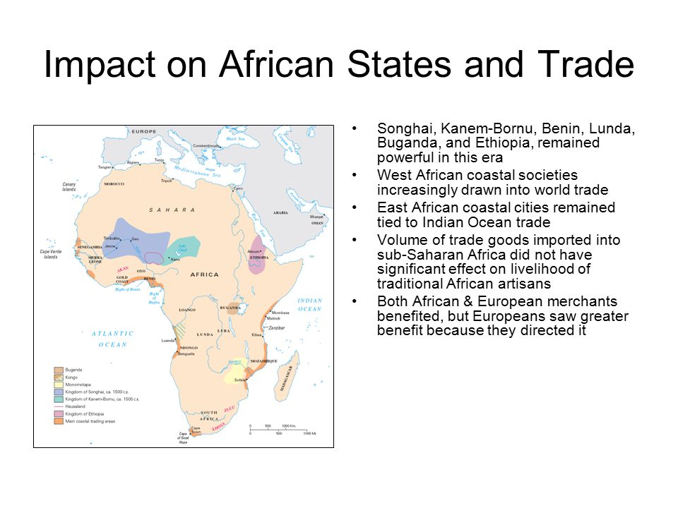 Impact on African States and Trade