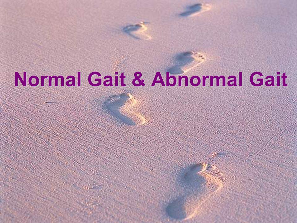 Normal Gait & Abnormal Gait