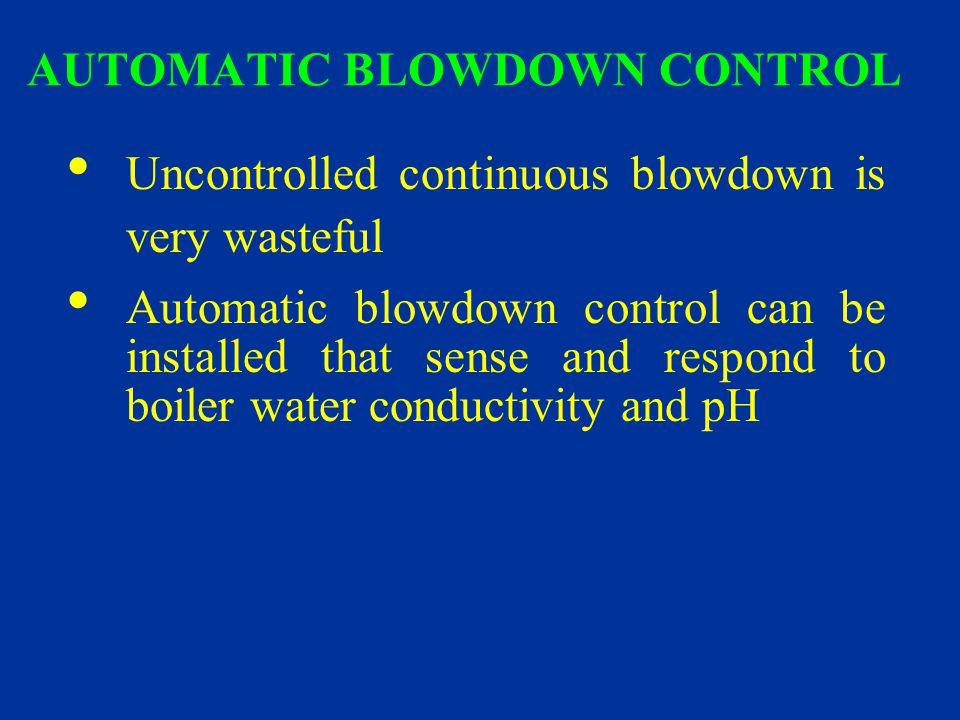 AUTOMATIC BLOWDOWN CONTROL