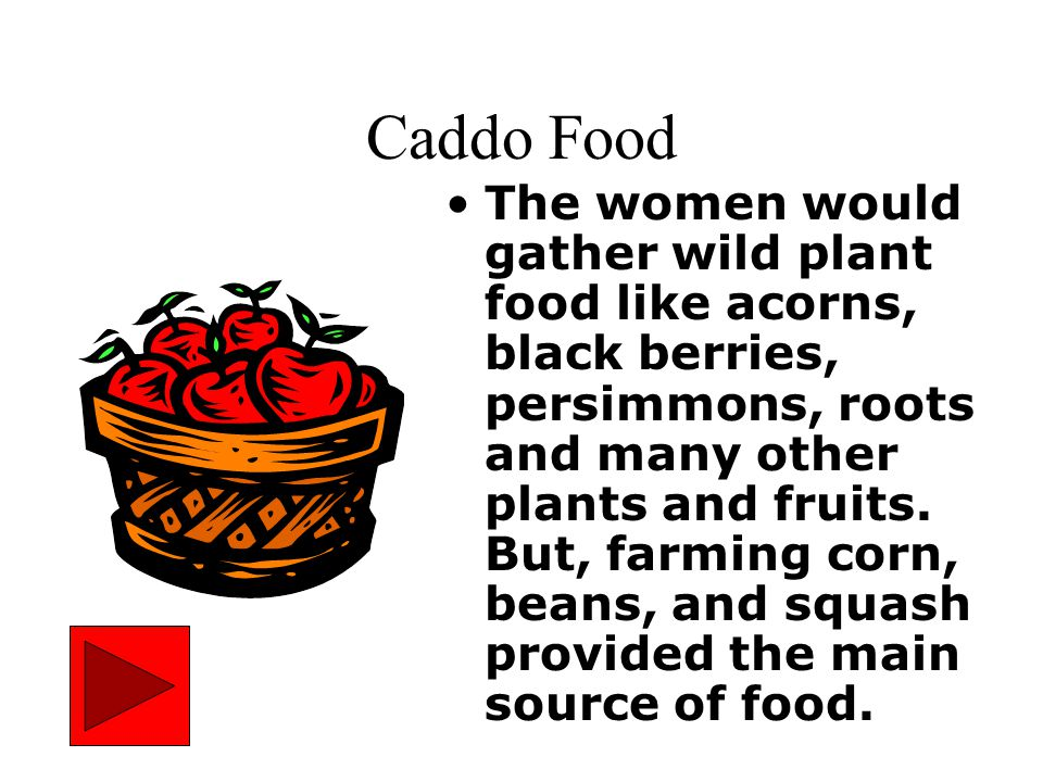Caddo Food
