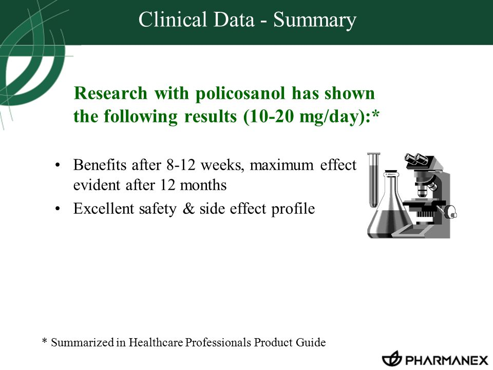 Clinical Data - Summary