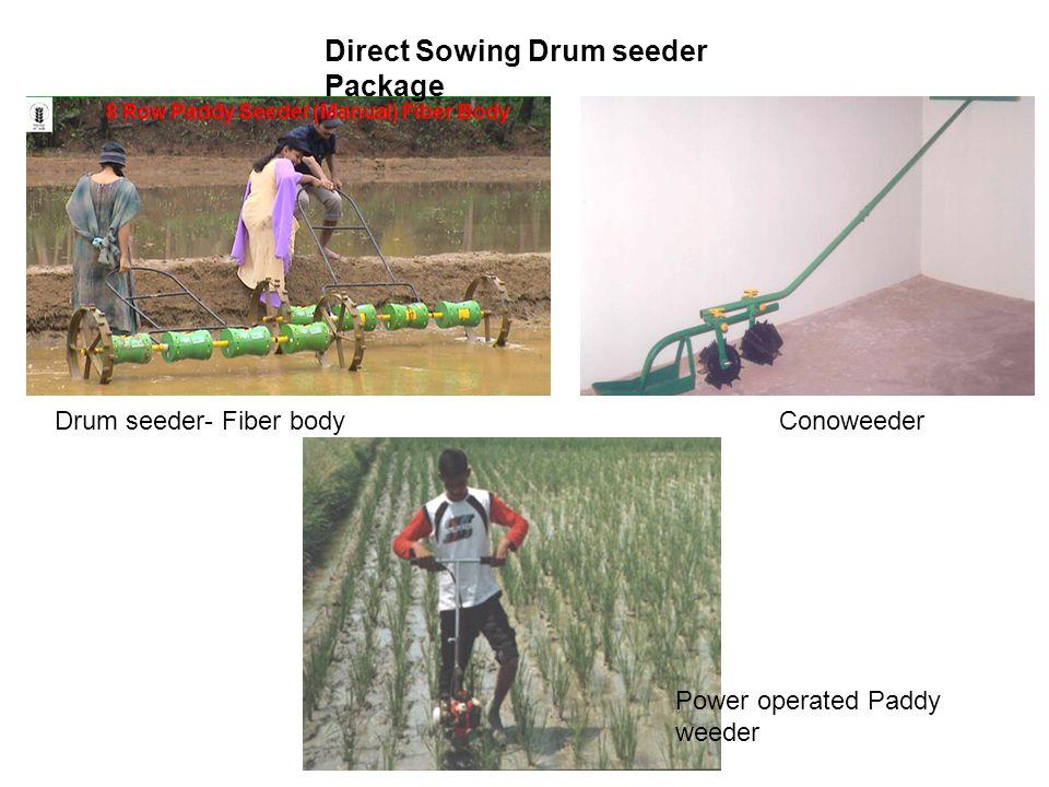 Direct Sowing Drum seeder Package